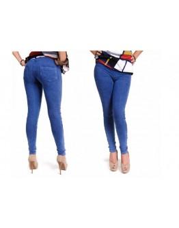 Стягащ клин дънки Slim'n Lift Caresse Jeans - извайва фигурата