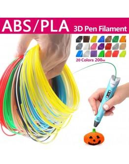 Консуматив филаменти за 3D моделираща писалка