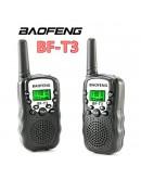 Уоки токи с голям обхват от 3км и вграден фенер Baofeng BF-T3