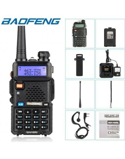 Двубандова, мощна, професионална радиостанция Baofeng UV-5R 8W с VHF-UHF честоти