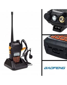 Мощна професионална радиостанция Baofeng UV-6R 8W с ултрависоки честоти