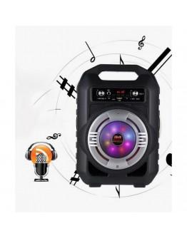 Преносима Bluetooth караоке тонколона с дръжка и цветомузика CS1