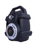 Преносима Bluetooth караоке тонколона с дръжка и цветомузика CS2