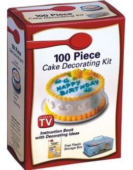 Комплект за декориране на торти и сладкиши - Cake Decorating Kit.