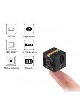 Мини камера със сензор за движение и нощно виждане - 12MP Mini Full HD Camera