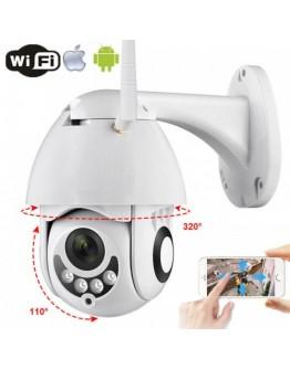 Външна Wifi IP IR Смарт камера 5 MP Full Hd 1080p ( въртяща се и водоустойчива )