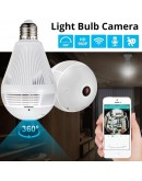 Панорамна WIFI камера в LED крушка