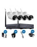 Комплект за видеонаблюдение 5G WiFi KIT с 4 камери