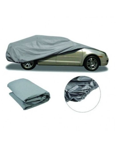 Покривало за автомобил - бързо поставящо се, универсално, сиво