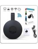 Smart устройство Google Chromecast, за безжично свързване на телефон, лаптоп и таблет с телевизор