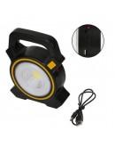 Преносима работна лампа и Power Bank със соларен панел – Cob Work Lights JY-819
