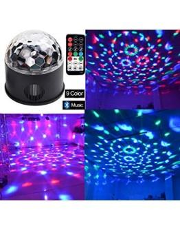 LED Disco лампа с вграденa блутут тонколонка Disco Party Light