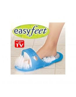 Eazy Feat - почистване и масажиране на краката в банята