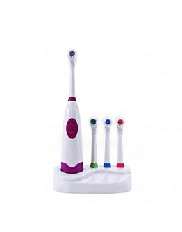 Електрическа четка за зъби с 4 накрайника
