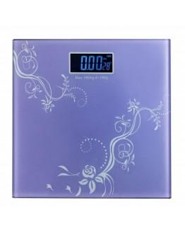 Кантар със стъклена платформа и термометър до 180 кг
