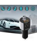 FM Трансмитер X10 - Bluetooth , USB, FM аудио предавател, MP3 плейър, Handsfree