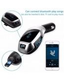 Автомобилен Bluetooth FM трансмитер Wireless - Car Kit X6