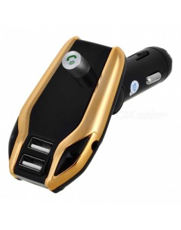 FM Трансмитер X8 Plus - Bluetooth , USB, FM аудио предавател, MP3 плейър, Handsfree