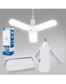 Сгъваема LED лампа с форма на вентилатор 45 W, стандартна фасонка E27, 228 Led диода