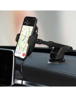 Безжично зарядно за телефон със сензор Fast Wireless Charger C9