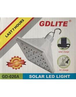 Соларна осветителнa SMD LED лампа GD Lite GD-026A