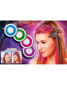 Комплект за оцветяване на кичури коса Hot Huez
