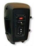 Преносима Bluetooth караоке тонколона с дистанционно, микрофон и цветомузика JMK OM-801