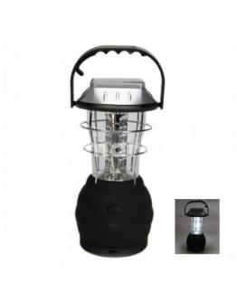 Лампа с 36 LED, соларен панел, динамо и USB изход