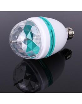 Въртяща се диско LED лампа