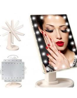 Светещо козметично LED огледало