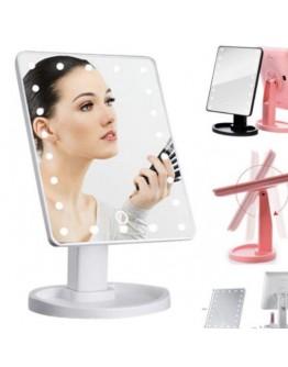 Светещото козметично LED огледало