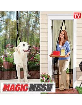 Мрежа против насекоми /комари, мухи/ с магнитно закопчаване Magic Mesh