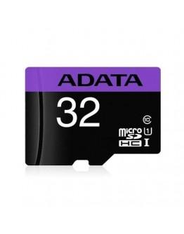 Карта памет 32GB ADATA micro SDHC+SD адаптер, Class 10
