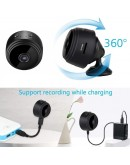 Безжична Mini FullHD WiFi камера с магнит за видеонаблюдение