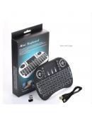 Мини безжична клавиатура с тъчпад и подсветка
