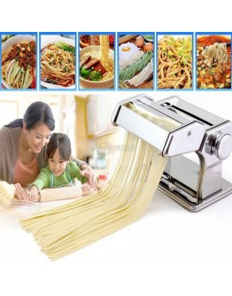Машина за приготвяне на домашна паста изработена от неръждаема стомана