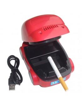 Спрете цигарения дим в офиса и дома с USB пепелник във формата на кола