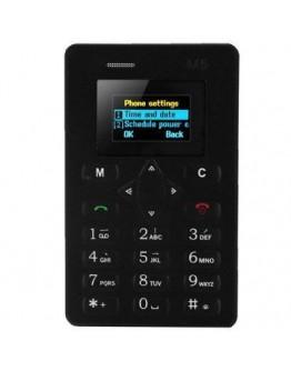 Card Phone Aeku М5,  ултра тънък и удобен телефон-карта