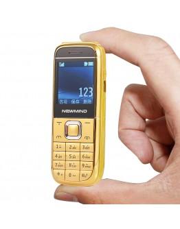 Мини мобилен телефон NEWMIND M8800, две SIM карти, bluetooth, microSD, камера и др.