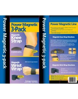 2 броя магнитни наколенки + магнитна лента за ръка