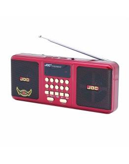Преносимо стерео FM радио с блутут, USB, SD карта, AUX, Акумулаторна батерия
