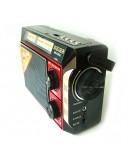 Радиоприемник с FM/AM/SW, Mp3/USB/microSD/AUX, акумулаторна батерия