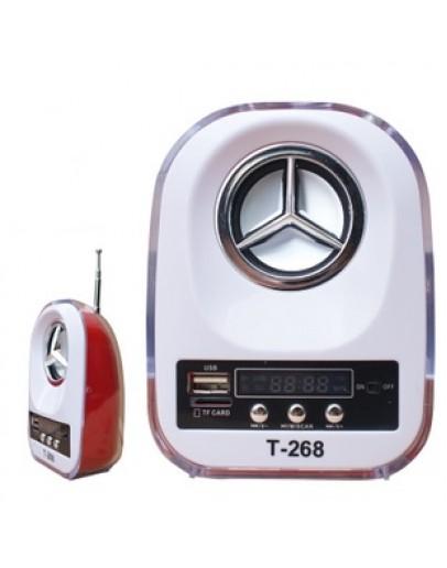 Мини преносим МР3 високоговорител с FM радио Т-268