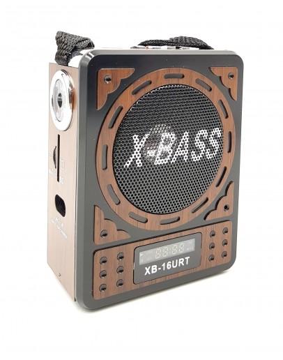Акумулаторно FM Радио Waxiba XB-16U, с USB, SD карта, AM/FM/SW