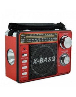Акумулаторно радио Waxiba XB-1061 URT, MP3, USB, SD карта, AM/FM/SW