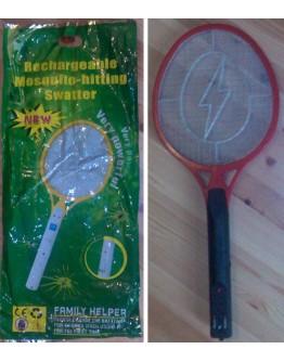 Акумулаторна електрическа ракета за изтребване на комари и други насекоми.