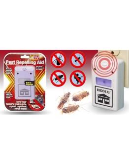 Ултразвукова защита от вредители /гризачи, хлебарки др. / - Riddex Pestrepeller