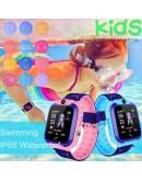 Детски GPS смарт часовник - SIM карта, водоустойчив с вградена камера Q12 B WATCH