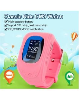 Детски смарт часовник, Smartwatch, Q50, сим карта и GPS