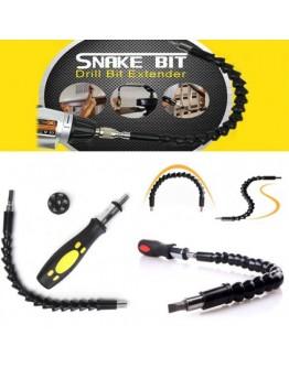 Професионална отвертка Snake Bit тип змия с 6 приставки